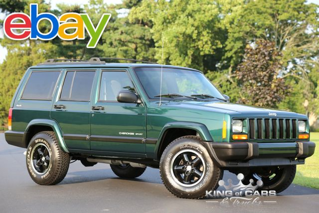 2000 Jeep Cherokee Sport XJ 104K ORIGINAL MILES CLEAN CARFAX 4X4 in Woodbury, New Jersey 08093