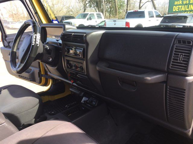 2000 Jeep Wrangler Sport air conditioned in Boerne, Texas 78006