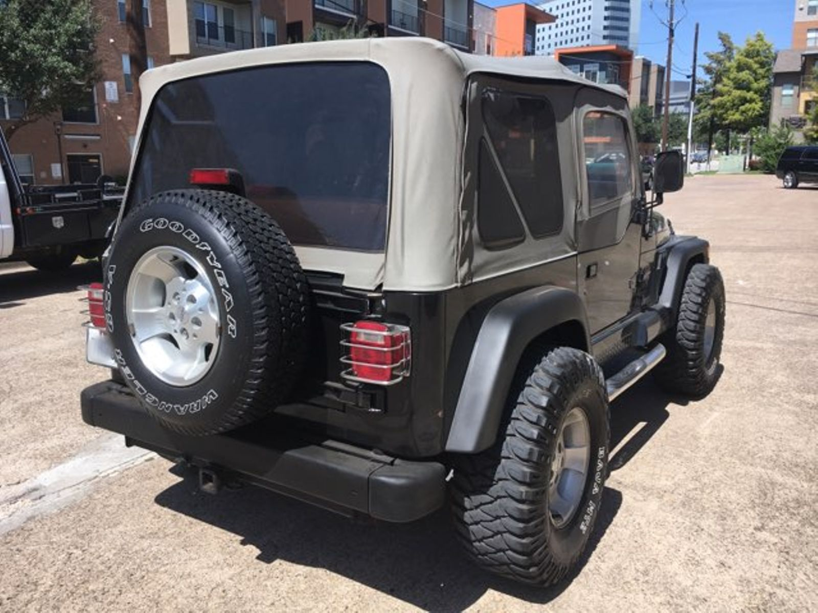 ... 2000 Jeep Wrangler Sahara City TX MM Enterprise Motors In Dallas, ...