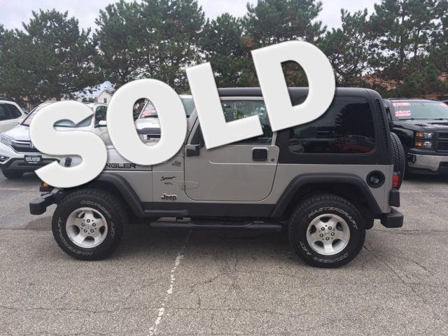 2000 Jeep Wrangler Sport Ontario, OH