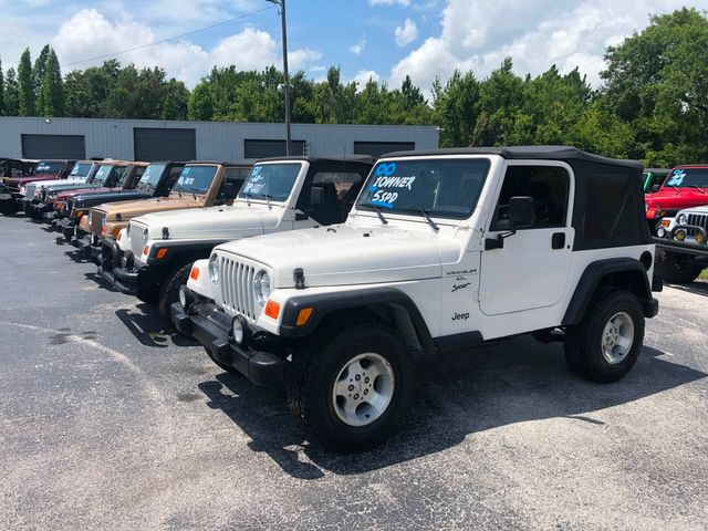 2000 Jeep Wrangler Sport 1-Owner in Riverview, FL 33578