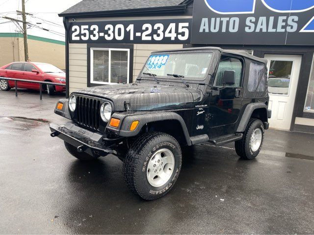 2000 Jeep Wrangler Sport in Tacoma, WA 98409