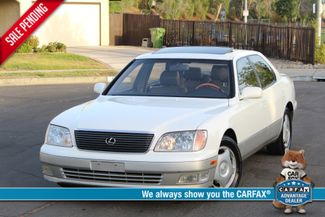 2000 Lexus LS 400 XLNT CONDITION LEATHER SERVICE RECORDS in Woodland Hills CA, 91367