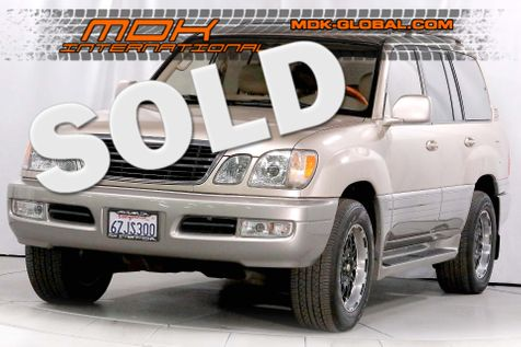 2000 Lexus LX 470 - 1 Owner - Service records in Los Angeles