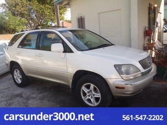 2000 Lexus RX 300 Lake Worth , Florida