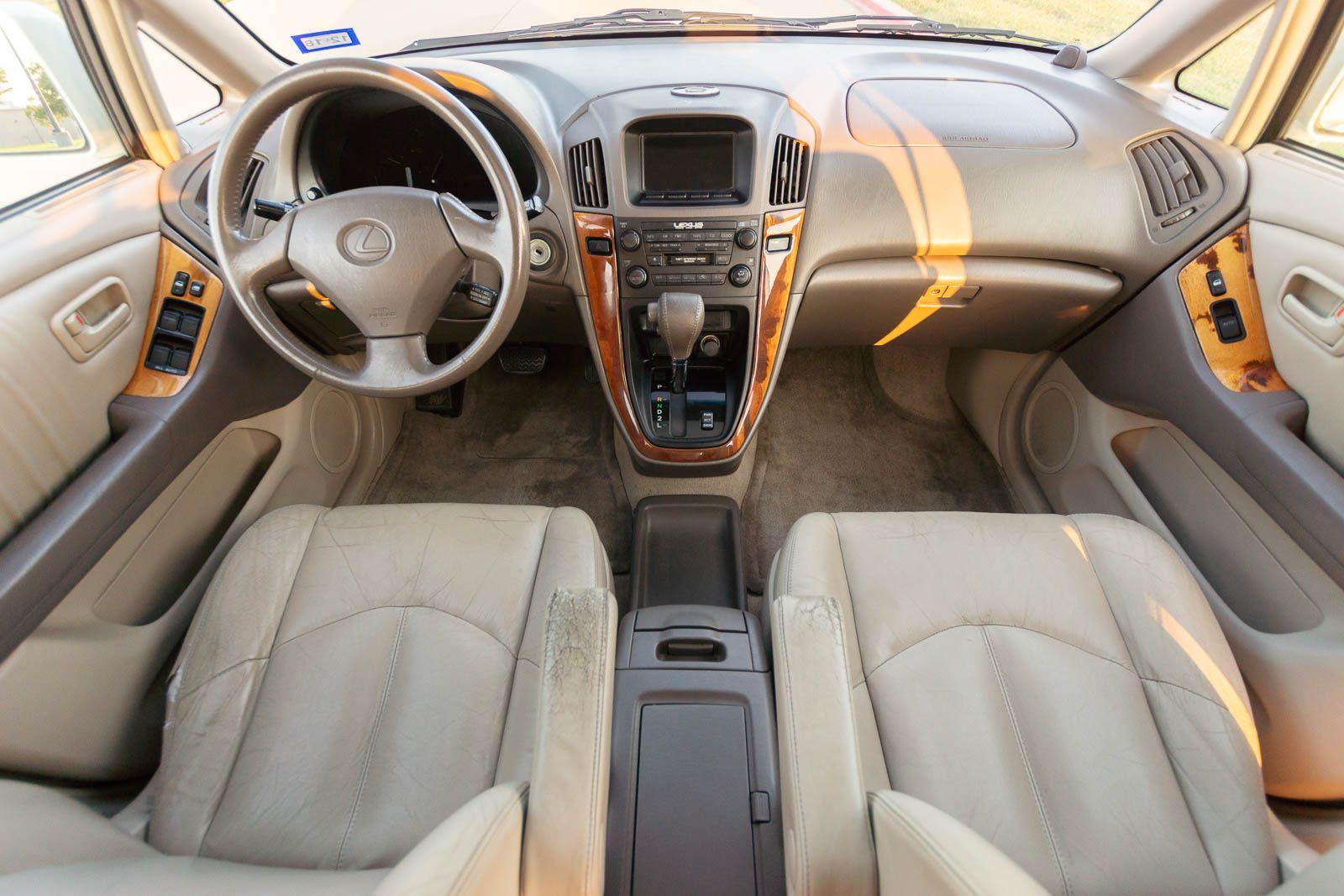 2000 lexus rx300 steering wheel size
