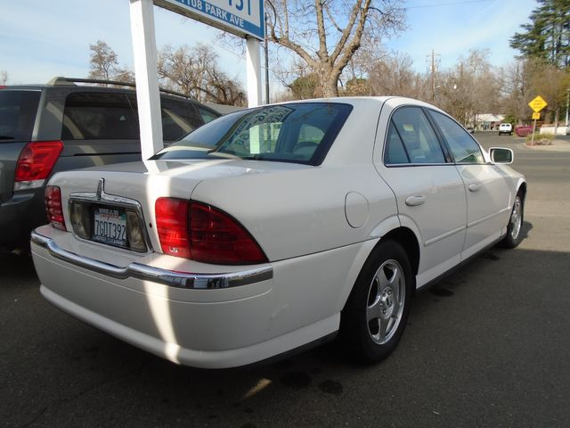 2000 Lincoln LS Chico, CA 1