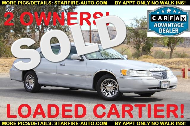 2000 Lincoln Town Car Cartier Santa Clarita Ca Starfire Auto Inc