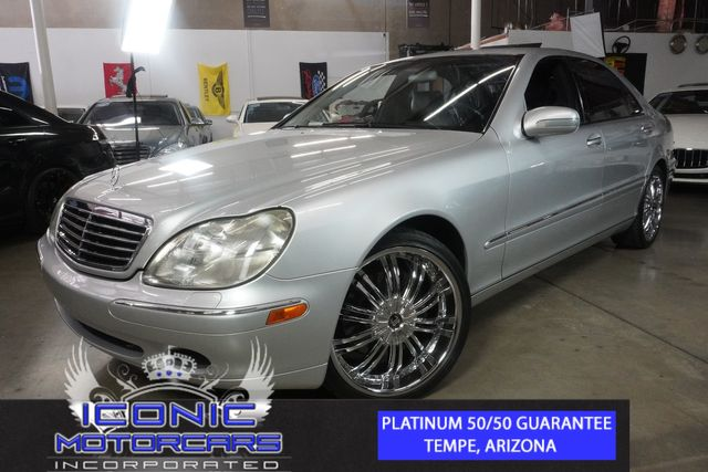 2000 Mercedes-Benz S430 S-CLASS | Tempe, AZ | ICONIC MOTORCARS, Inc. in Tempe AZ