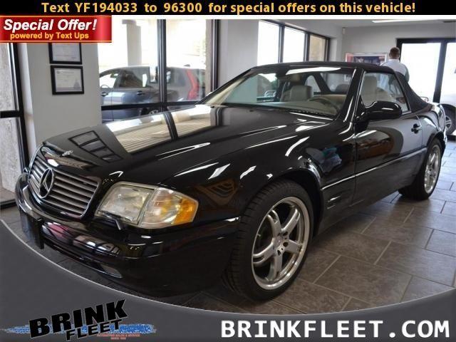 2000 Mercedes-Benz SL500 COUPE   Lubbock, TX   Brink Fleet in Lubbock TX