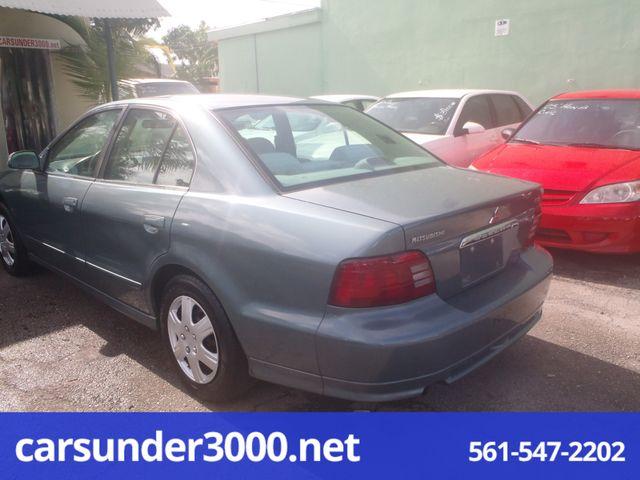 2000 Mitsubishi Galant ES Lake Worth , Florida 3