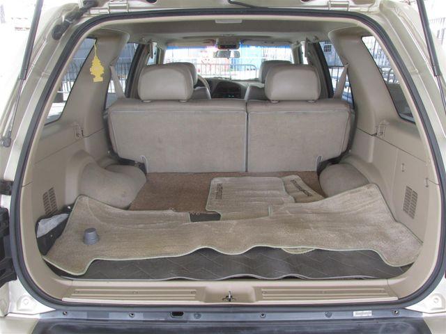 2000 Nissan Pathfinder LE Gardena, California 11