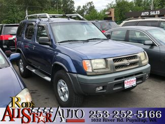 2000 Nissan Xterra XE in Puyallup Washington, 98371