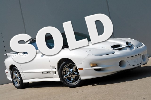 2000 Pontiac Firebird Trans Am Ram Air Package