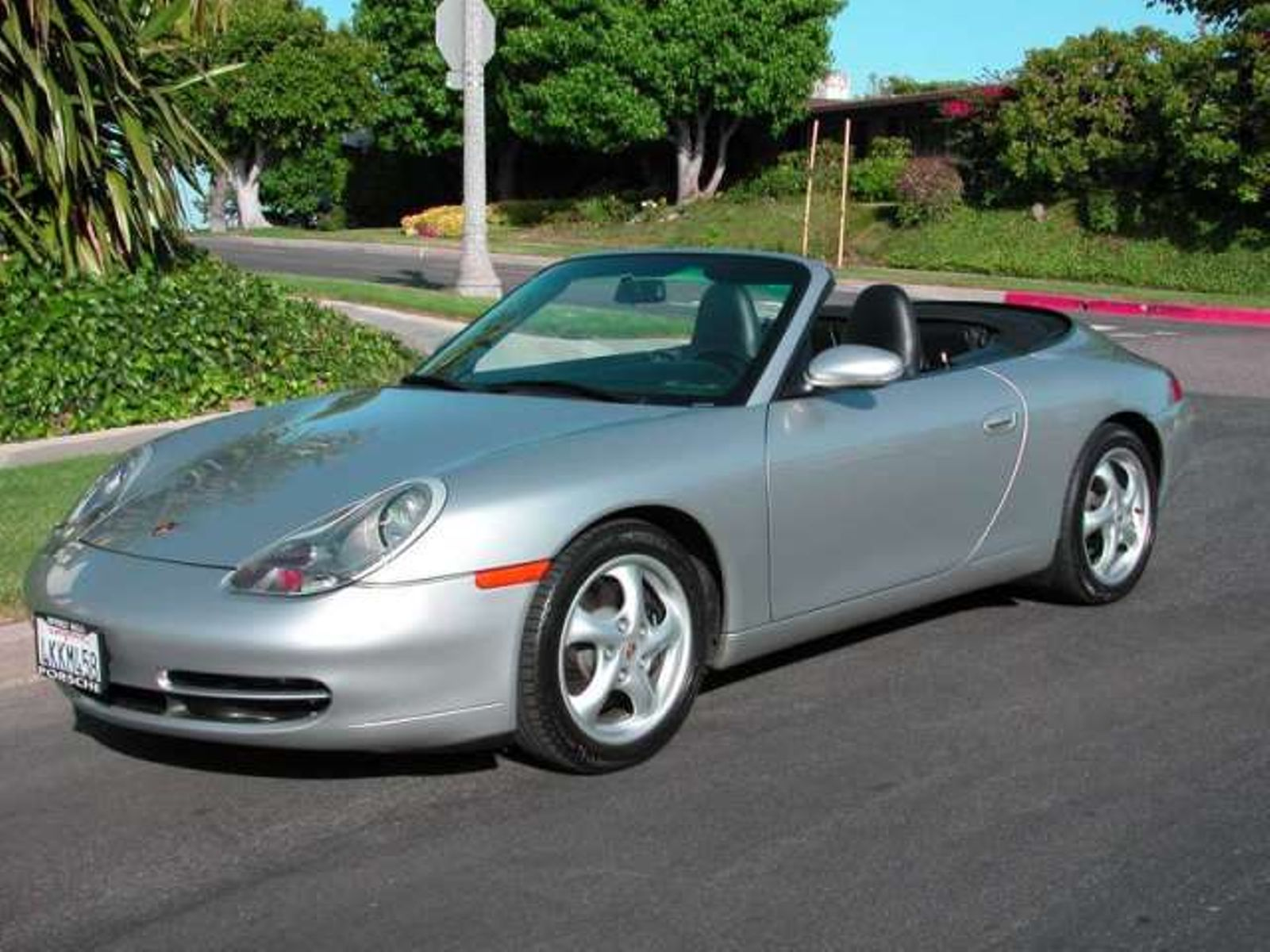 2000 Porsche 911 Carrera Convertible One Owner California Car City Auto Fitness Cl Benz In