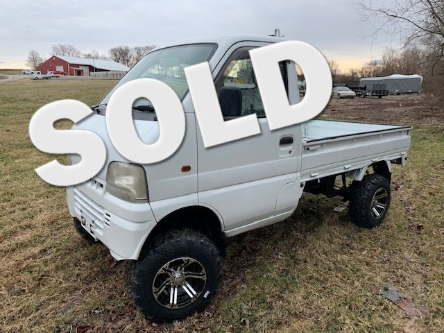 2000 Suzuki 4wd Japanese Minitruck [a/c, power steering]  | Jackson, Missouri | GR Imports in Eaton Missouri