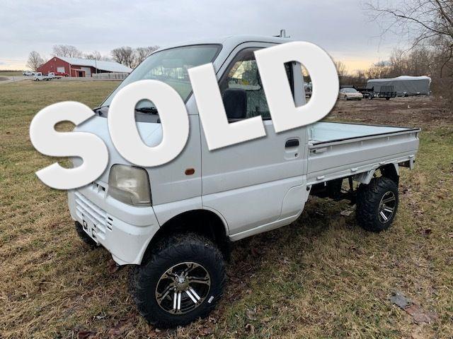 2000 Suzuki 4wd Japanese Minitruck [a/c, power steering] in Jackson Missouri