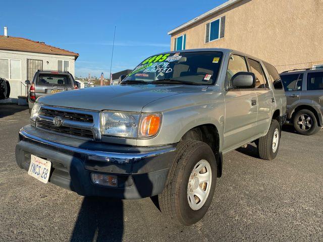 2000 Toyota 4Runner 4Cyl 5-Speed