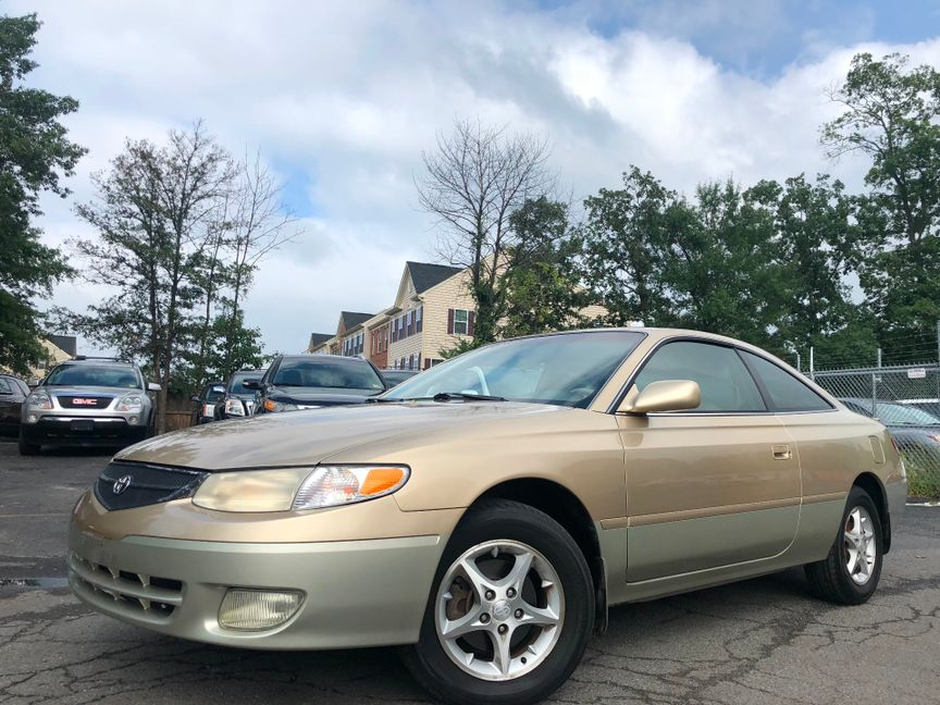 U003c 2000 Toyota Camry Solara SE In Sterling VA, ...