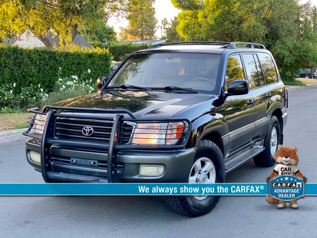 2000 Toyota LAND CRUISER SPORT UTILITY 4WD 3RD ROW SERVICE RECORDS NEW TIRES