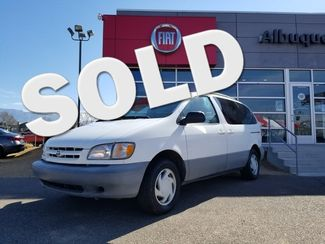 2000 Toyota Sienna LE in Albuquerque New Mexico, 87109