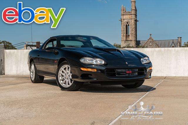 2001 Chevrolet Camaro Ss V8 6 Speed Manual 1-Owner GARAGED 1-OWNER 24K MILES Z28 6-SPEED