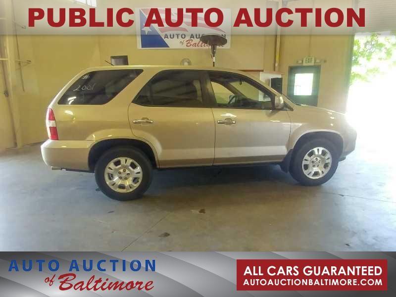 2001 Acura MDX    JOPPA, MD   Auto Auction of Baltimore  in JOPPA MD