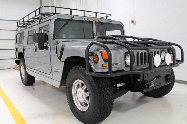 2001 Am General Hummer Enclosed