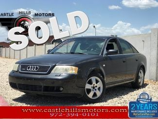 2001 Audi A6 Leather! Sunroof! Turbo AWD!   Lewisville, Texas   Castle Hills Motors in Lewisville Texas