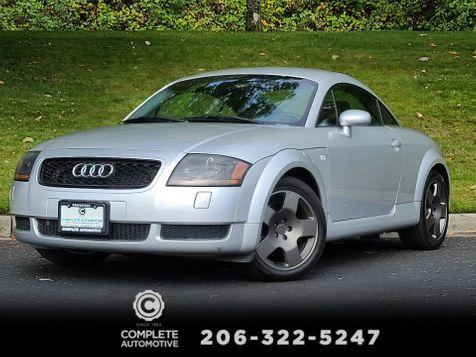 2001 Audi TT 1.8T Quattro 225HP 6-Speed Premium Package Bose Local Full History Fast & Fun in Seattle
