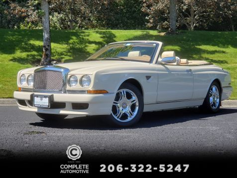 2001 Bentley Azure Mulliner Convertible 15,000 Original Miles Full History It's Like New in Seattle