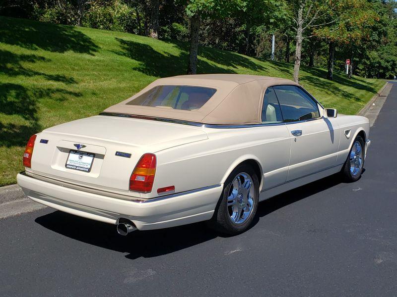 2001 Bentley Azure Mulliner Convertible 15000 Original Miles Full History Its Like New  city Washington  Complete Automotive  in Seattle, Washington