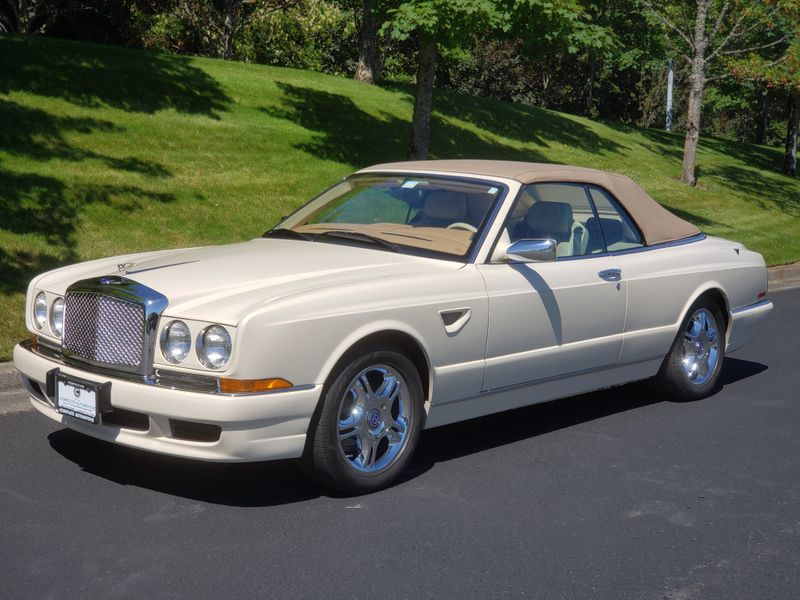 2001 Bentley Azure Mulliner Convertible 15000 Original Miles Full History Its Like New  city Washington  Complete Automotive  in Seattle, Washington
