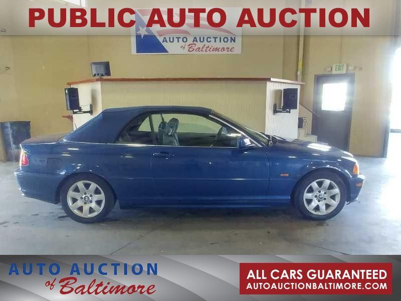 2001 BMW 325Ci  | JOPPA, MD | Auto Auction of Baltimore  in JOPPA MD