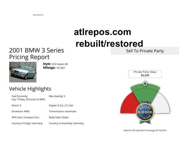 2001 BMW 325i Salt Lake City, UT