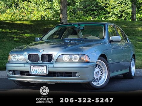 2001 BMW 525i  Low Miles Local History Sport Premium Package Rare in Seattle