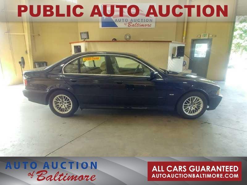 2001 BMW 530i 530iA   JOPPA, MD   Auto Auction of Baltimore  in JOPPA MD
