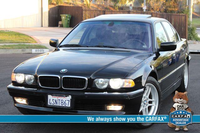 2001 BMW 740i SPORTS PKG 83K MLS XENON NAVIGATION SERVICE RECORDS AVAILABLE