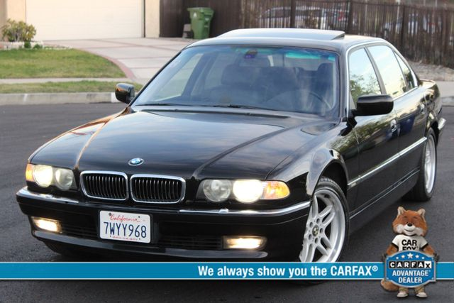 2001 BMW 740iL SPORTS PKG NAVIGATION SERVICE RECORDS AVAILABLE