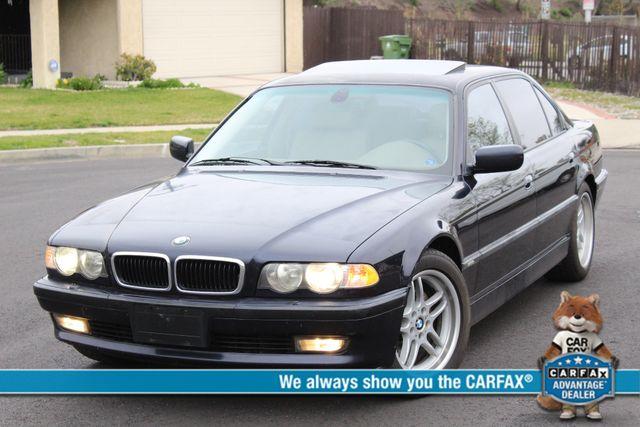 2001 BMW 740iL SPORTS PKG NAVIGATION NEW TIRES SERVICE RECORDS XLNT CONDITION