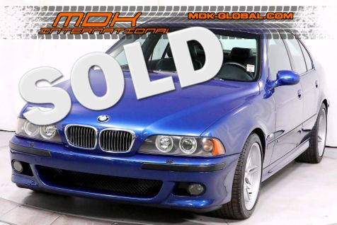 2001 BMW M5  - Le Mans Blue over Black Full Leather interior in Los Angeles