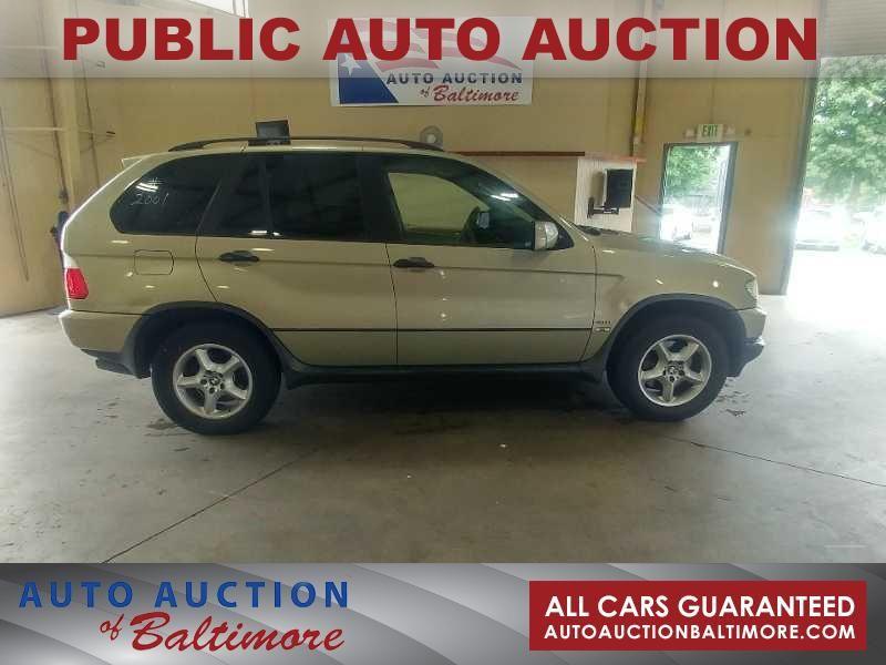 2001 BMW X5 3.0L    JOPPA, MD   Auto Auction of Baltimore  in JOPPA MD