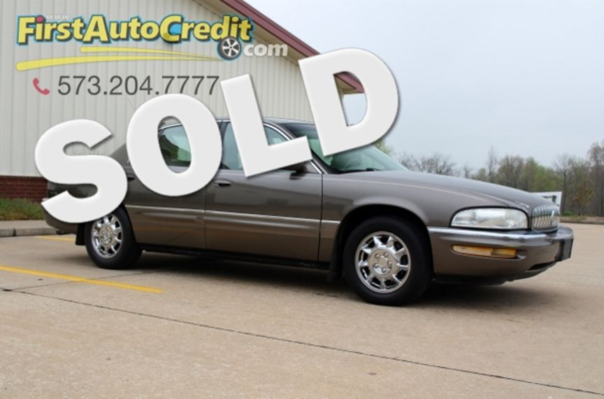 2001 Buick Park Avenue Ultra Jackson Mo First Auto Credit