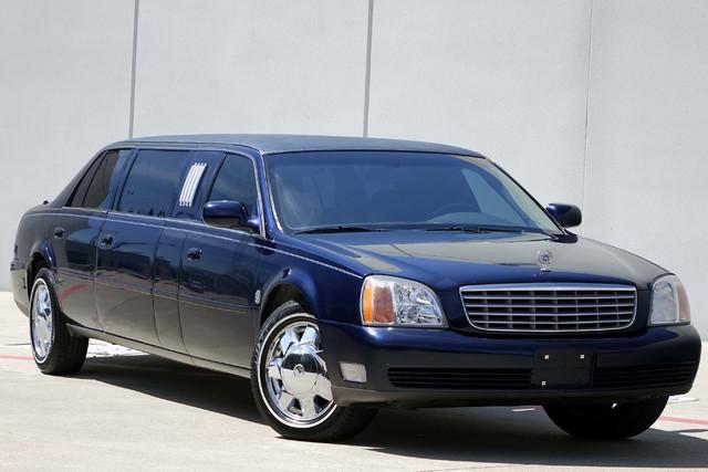 2001 Cadillac Deville Professional Limousine * ONLY 30k MILES * Chrome Wheels * NICE