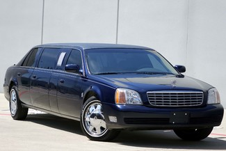 2001 Cadillac Deville Professional Limousine * ONLY 30k MILES * Chrome Wheels * NICE in Plano, Texas 75075