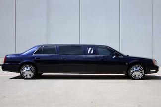 2001 Cadillac Deville Professional Limousine * ONLY 30k MILES * Chrome Wheels * NICE! Plano, Texas 2