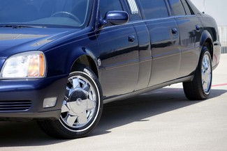 2001 Cadillac Deville Professional Limousine * ONLY 30k MILES * Chrome Wheels * NICE! Plano, Texas 35