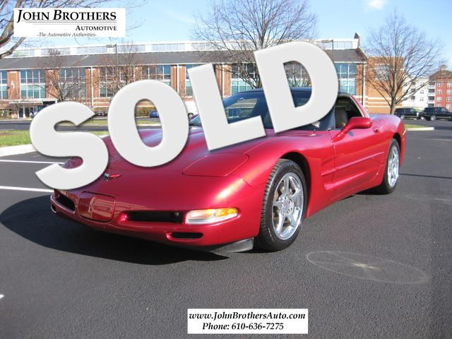 2001 Sold Chevrolet Corvette Conshohocken, Pennsylvania