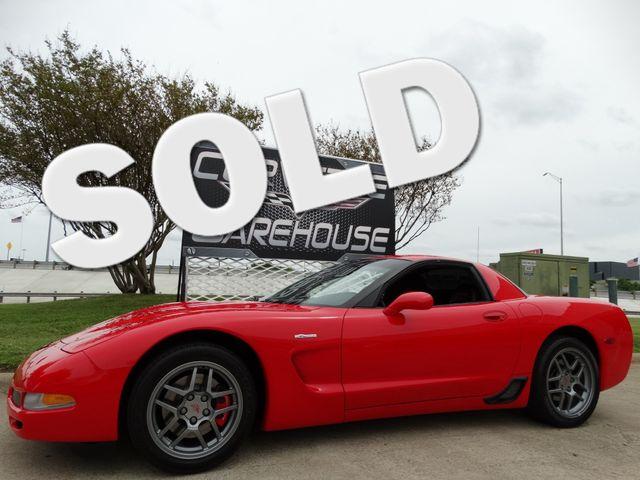 2001 Chevrolet Corvette Z06 Hardtop, 100% Original, Red/Red Showpiece 12k! | Dallas, Texas | Corvette Warehouse  in Dallas Texas