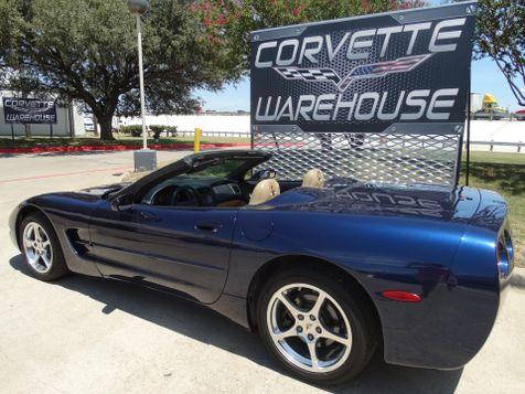 2001 Chevrolet Corvette Convertible Auto, HUD, Polished Wheels. Only 68k!   Dallas, Texas   Corvette Warehouse  in Dallas, Texas